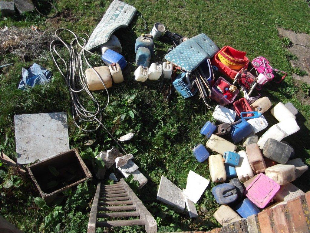 Lässt sich schlecht zu Geld machen: kubikmeterweise Müll